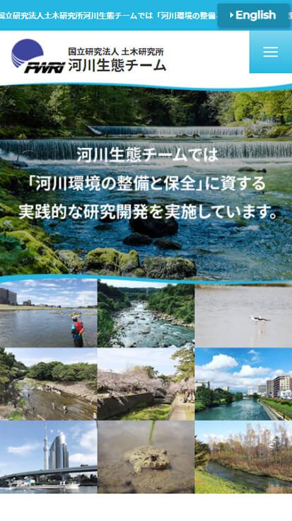 国立研究法人土木研究所 河川生態チーム